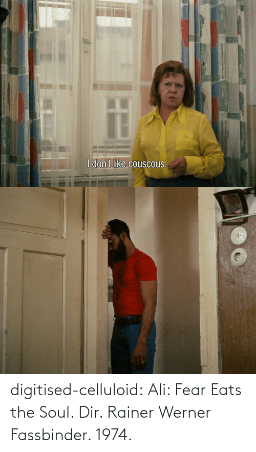 Eats: digitised-celluloid:  Ali: Fear Eats the Soul. Dir. Rainer Werner Fassbinder. 1974.
