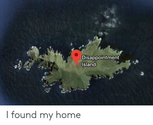Home, Island, and Disappointment: Disappointment  Island I found my home