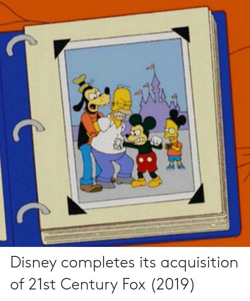 21st century: Disney completes its acquisition of 21st Century Fox (2019)