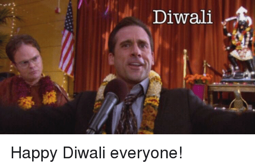 The Office, Happy, and Diwali: Diwali