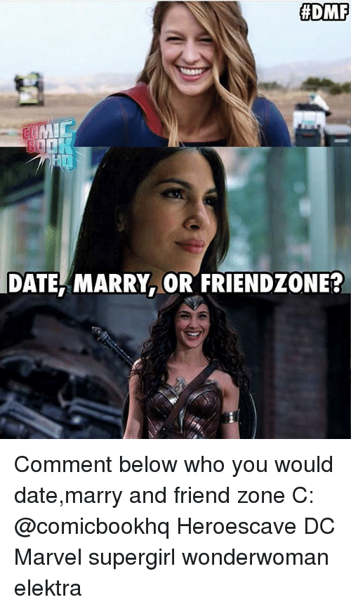 DMF MIC DATE MARRY OR FRIENDZONE? Comment Below Who You Would