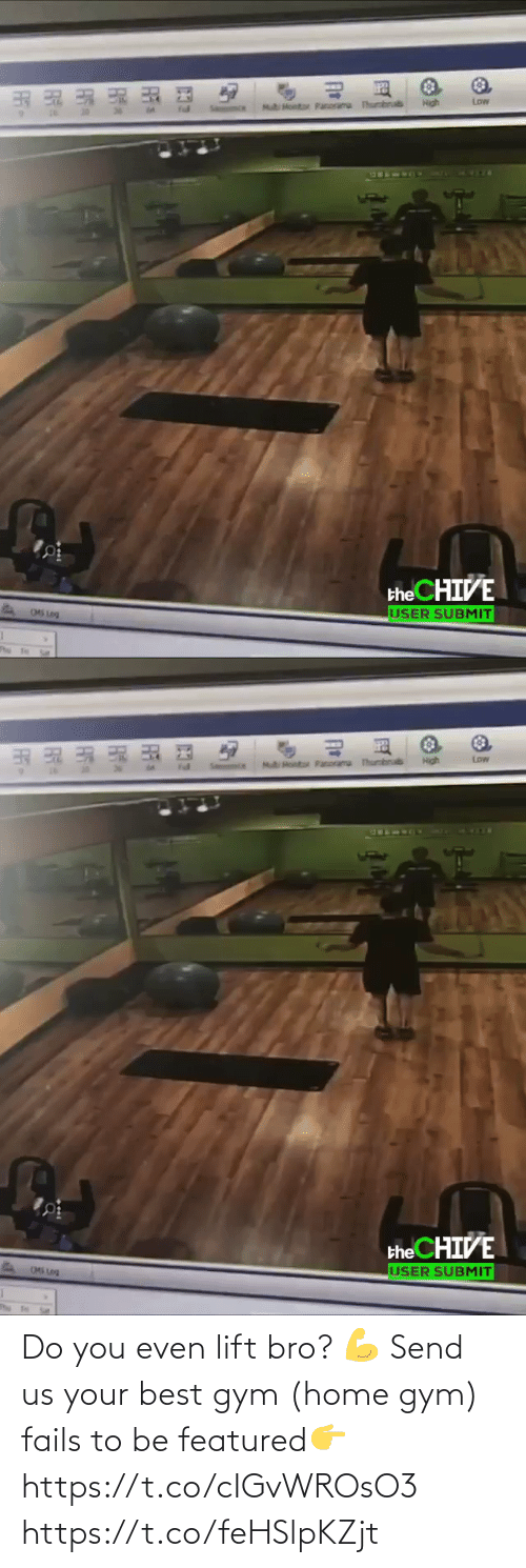 fails: Do you even lift bro? 💪 Send us your best gym (home gym) fails to be featured👉 https://t.co/cIGvWROsO3 https://t.co/feHSlpKZjt
