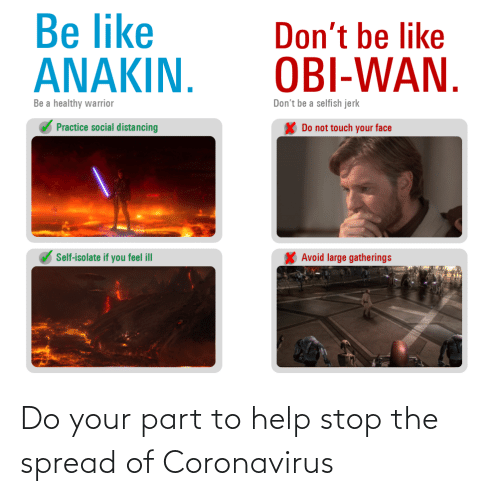 Stop The: Do your part to help stop the spread of Coronavirus