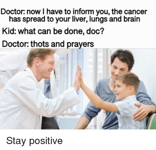 Doctor Now I Have to Inform You the Cancer Has Spread to Your Liver