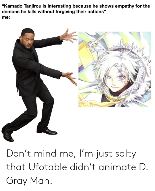 Gray Man: Don't mind me, I'm just salty that Ufotable didn't animate D. Gray Man.