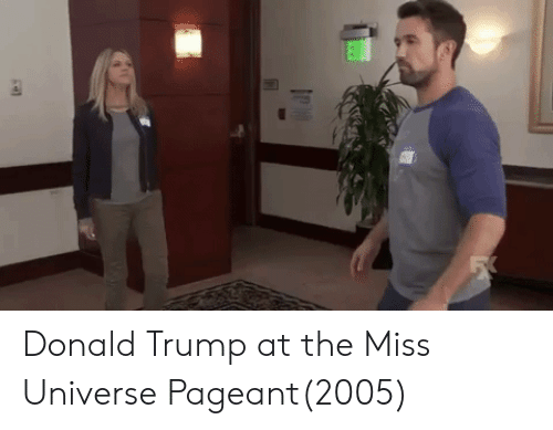 Donald Trump, Miss Universe, and Trump: Donald Trump at the Miss Universe Pageant(2005)