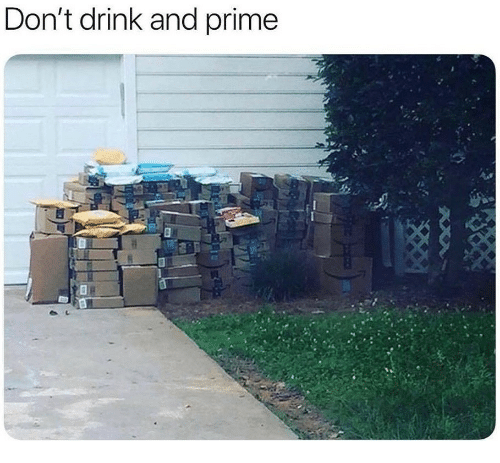 Prime,  Drink, and  Dont: Don't drink and prime