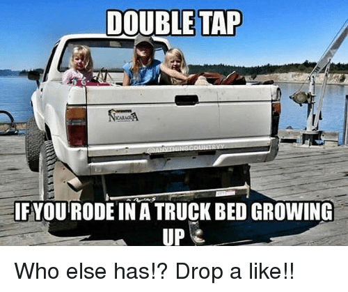 trucking: DOUBLE TAP  IFYOU RODE IN A TRUCK BED GROWING  UP Who else has!? Drop a like!!