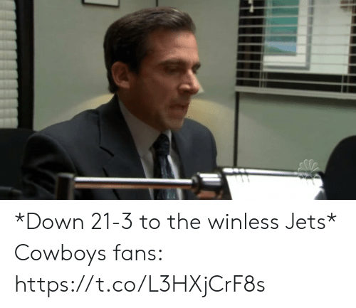 Jets: *Down 21-3 to the winless Jets*  Cowboys fans: https://t.co/L3HXjCrF8s