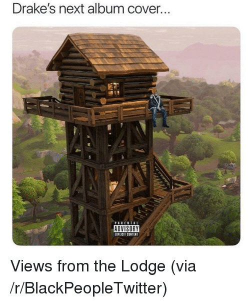 Blackpeopletwitter, Content, and Next: Drake's next album cover.  EXPLICIT CONTENT <p>Views from the Lodge (via /r/BlackPeopleTwitter)</p>