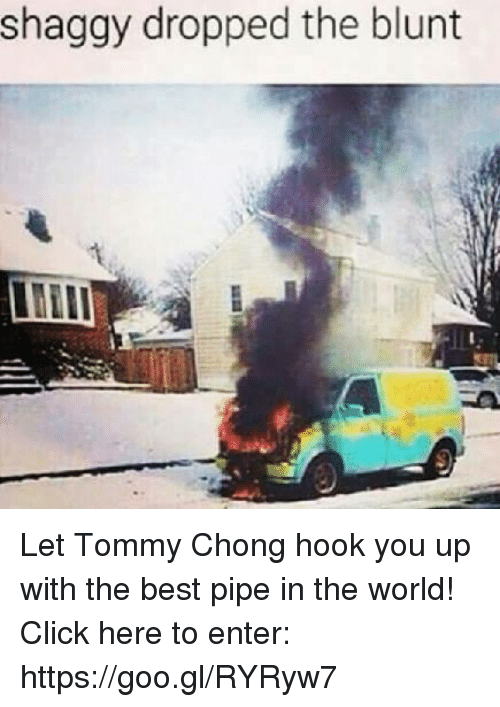 Tommy Chong: dropped the blunt  shaggy the Let Tommy Chong hook you up with the best pipe in the world!  Click here to enter: https://goo.gl/RYRyw7