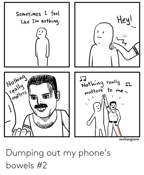 dumping: Dumping out my phone's bowels #2