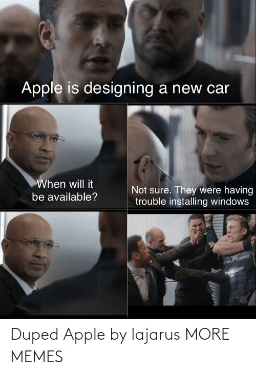 Apple: Duped Apple by lajarus MORE MEMES