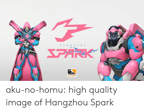 Tumblr, Blog, and Image: DVERWATCH  LEAGUE aku-no-homu:  high quality image of Hangzhou Spark