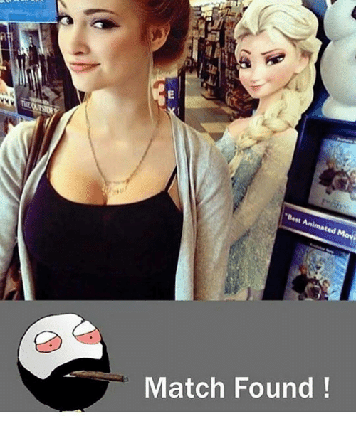 """Memes, Animated Movies, and 🤖: E  THEQU  """"Best Animated Movi  Match Found !"""