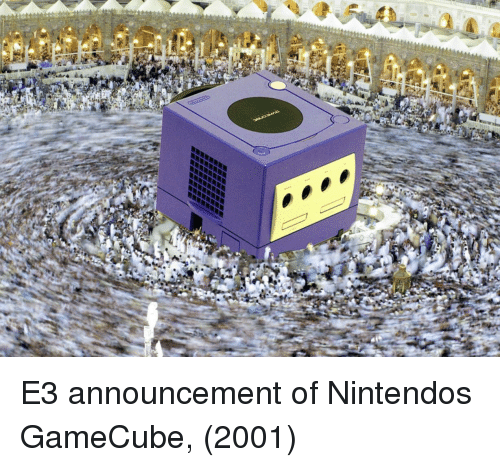 Nintendo, Announcement, and Gamecube: E3 announcement of Nintendos GameCube, (2001)