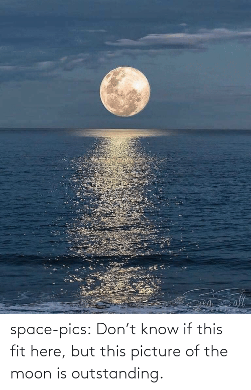 Dont Know: ea space-pics:  Don't know if this fit here, but this picture of the moon is outstanding.