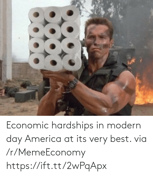 Memeeconomy: Economic hardships in modern day America at its very best. via /r/MemeEconomy https://ift.tt/2wPqApx