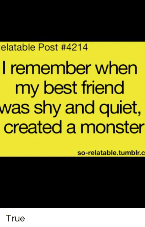 Best Friend, Memes, And Monster: Elatable Post #4214 I Remember When My