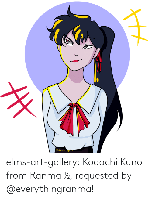 gallery: elms-art-gallery:  Kodachi Kuno from Ranma ½, requested by @everythingranma!
