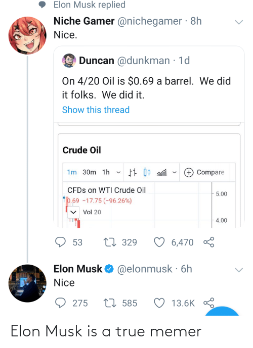 musk: Elon Musk is a true memer
