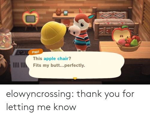 Thank You: elowyncrossing:  thank you for letting me know