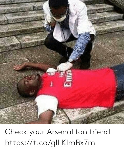 Arsenal, Memes, and 🤖: Emia Check your Arsenal fan friend https://t.co/gILKImBx7m