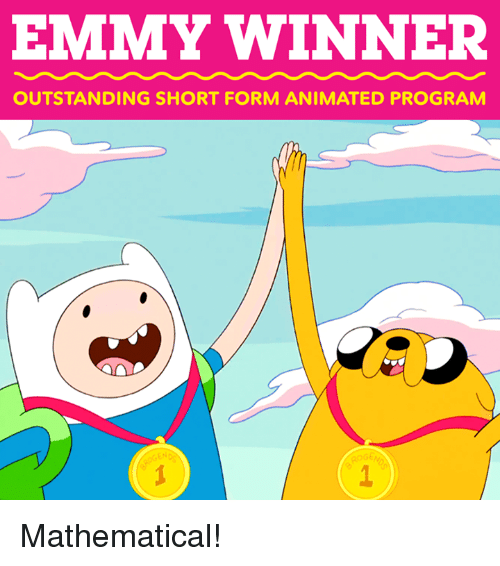 shortness: EMMY WINNER  OUTSTANDING SHORT FORM ANIMATED PROGRAM  ROG Mathematical!