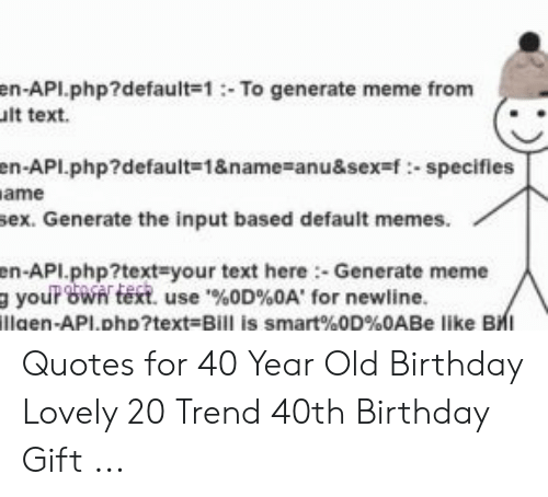 🇲🇽 25 Best Memes About 40 Year Old Birthday