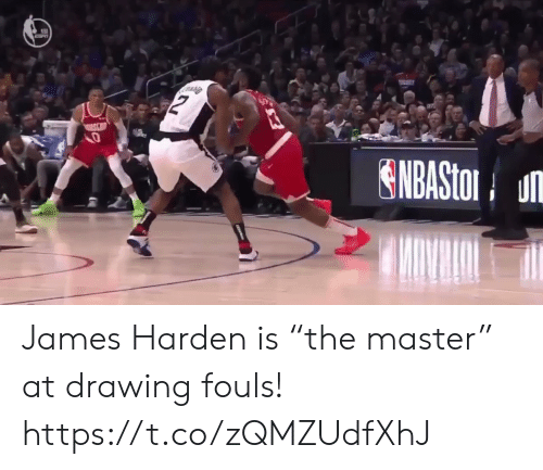 "James Harden: ENBASto u James Harden is ""the master"" at drawing fouls! https://t.co/zQMZUdfXhJ"