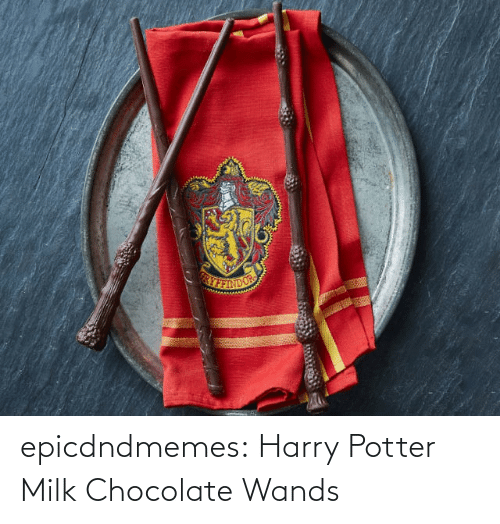 potter: epicdndmemes:  Harry Potter Milk Chocolate Wands
