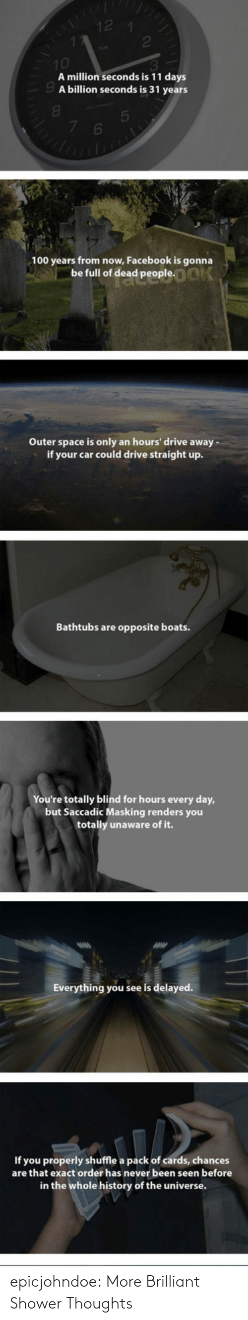 Brilliant: epicjohndoe:  More Brilliant Shower Thoughts