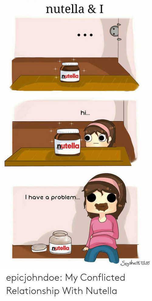 conflicted: epicjohndoe:  My Conflicted Relationship With Nutella