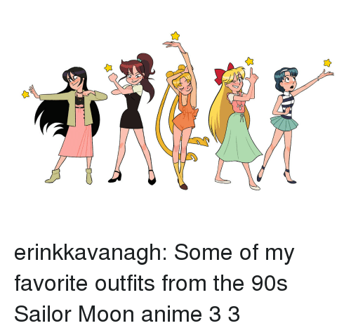 Anime, Sailor Moon, and Target: erinkkavanagh: Some of my favorite outfits from the 90s Sailor Moon anime 3 3
