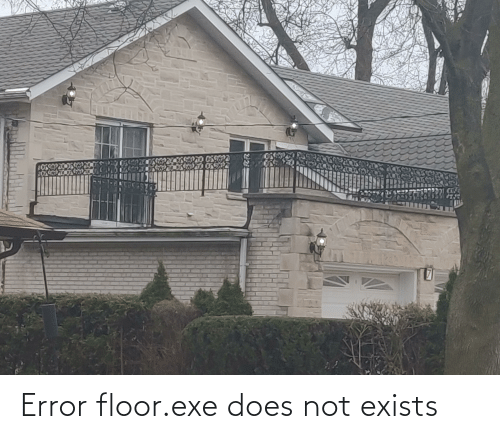 Exe: Error floor.exe does not exists