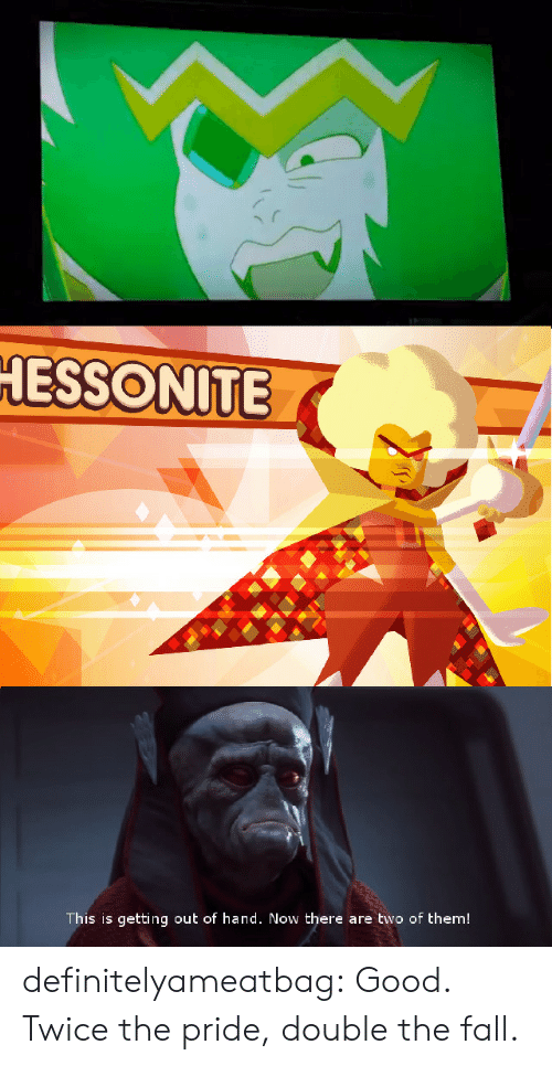Fall, Tumblr, and Blog: ESSONİTE  This is getting out of hand. Now there are two of them! definitelyameatbag:  Good. Twice the pride, double the fall.