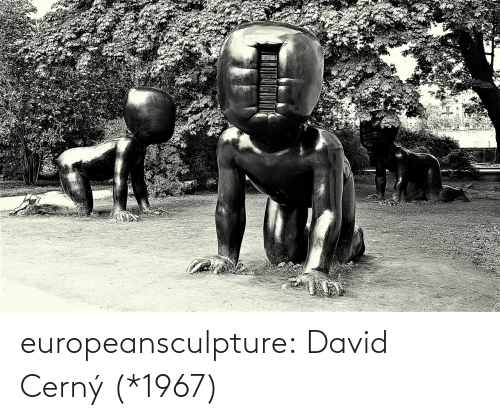 David: europeansculpture:   David Cerný   (*1967)