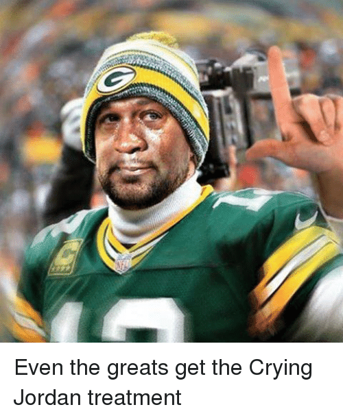 Crying, Nfl, and Jordan: Even the greats get the Crying Jordan treatment