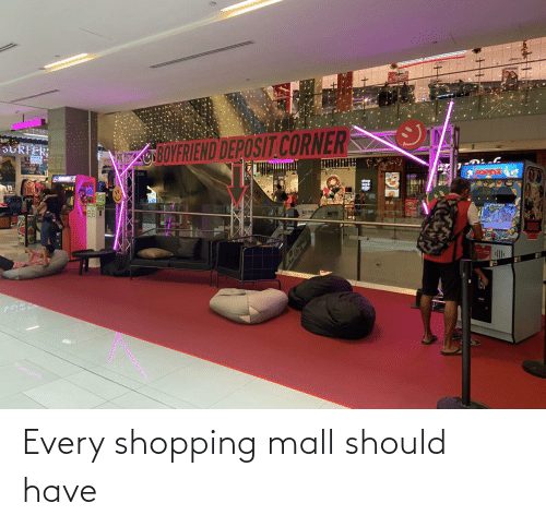 mall: Every shopping mall should have
