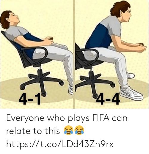 fifa: Everyone who plays FIFA can relate to this 😂😂 https://t.co/LDd43Zn9rx