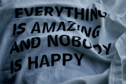 Happy, Amazing, and Everything: EVERYTHING  IS AMAZING  AND NOBOY  IS HAPPY