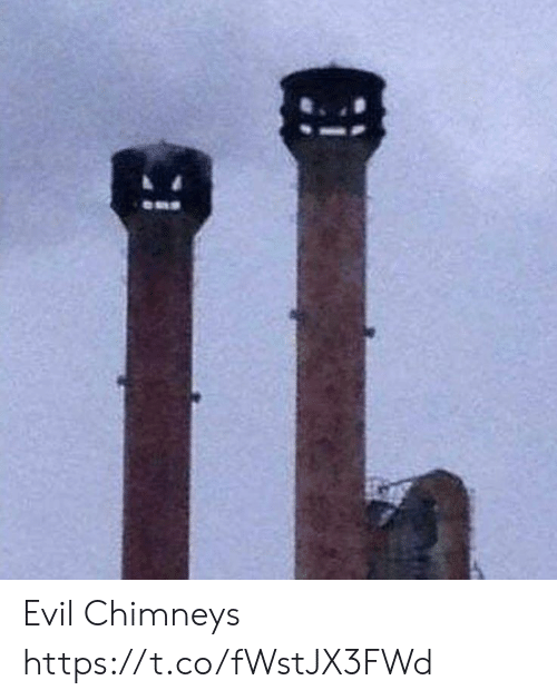 Evil, Faces-In-Things, and Https: Evil Chimneys https://t.co/fWstJX3FWd