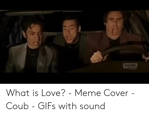 Ezedit What Is Love Meme Cover Coub Gifs With Sound Love Meme On Esmemes Com