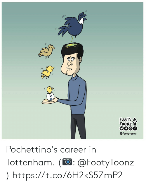 tottenham: FaOTY  TOONZ  @footytoonz Pochettino's career in Tottenham. (📷: @FootyToonz ) https://t.co/6H2kS5ZmP2