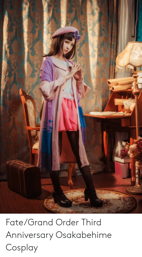 Cosplay, Grand, and Fate: Fate/Grand Order Third Anniversary Osakabehime Cosplay