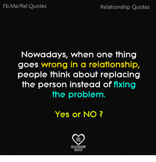 FbMeRelQuotes Relationship Quotes Nowadays When One Thing ...