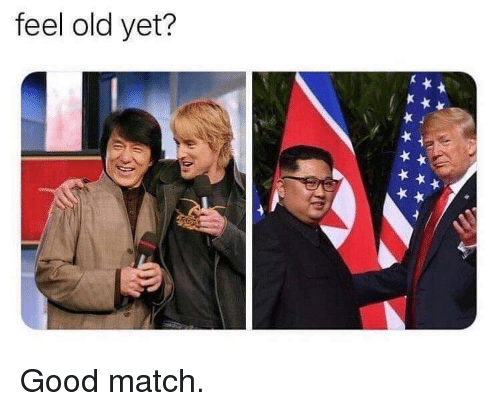 Good, Match, and Old: feel old yet? Good match.