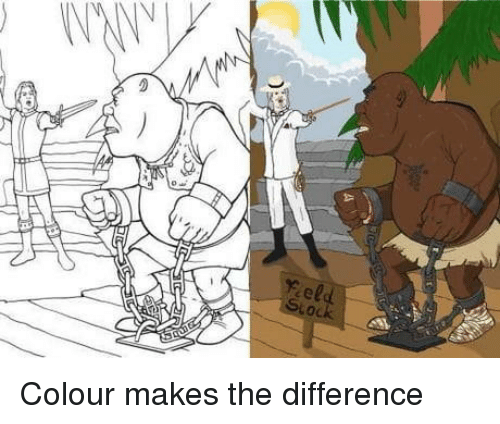 The, Colour, and Difference: feld Colour makes the difference