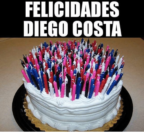Diego Costa, Diego, and Costa: FELICIDADES  DIEGO COSTA
