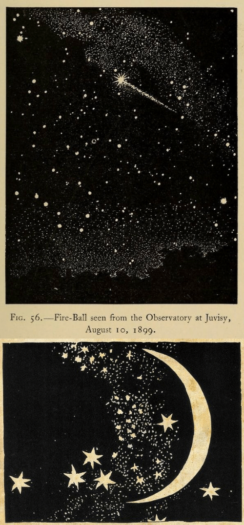 Fire, Fig, and August: FIG. 56.-Fire-Ball seen from the Observatory at Juvisy,  August 10, 1899